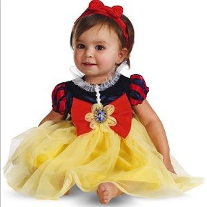 Snow White Costume Size 6-12 months